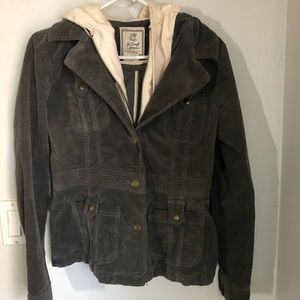For Joseph Fortune Gray corduroy Jacket